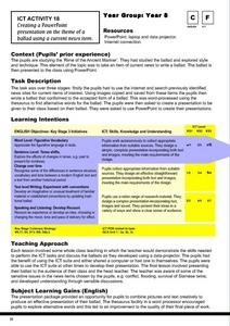 ICT Activity 18 Lesson Plan