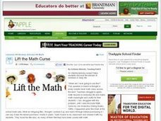 Lift the Math Curse Lesson Plan