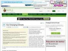 Our Changing Climate Lesson Plan