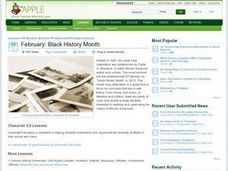 February: Black History Month Lesson Plan