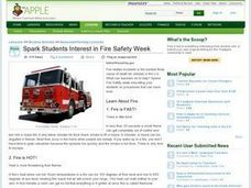 Spark Students Interest in Fire Safety Week Lesson Plan