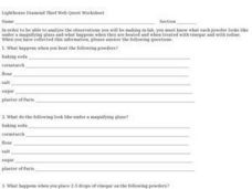 Lighthouse Diamond Thief Web Quest Worksheet Worksheet