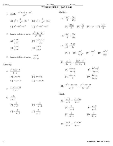 Division Of Polynomials Worksheet Photos - Toribeedesign