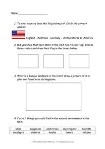 Facts About the United States Worksheet