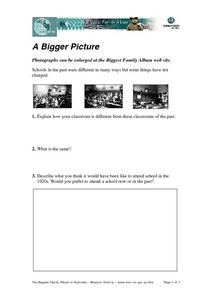 A Bigger Picture Worksheet