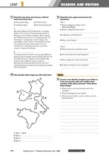 Reading And Writing - Units 1, 2, and 3 Worksheet
