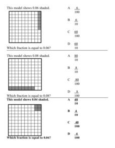 Shaded Fractions Lesson Plan