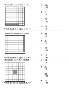 Fraction Model in Blocks Lesson Plan