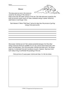 Wave Activity Worksheet