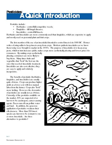 Agriculture Lesson Plans Worksheets Lesson Planet