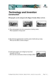 Technology and Invention in Construction Worksheet