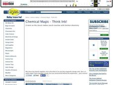 Chemical Magic - Think Ink! Video