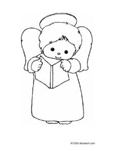 ANGEL DRAWING Lesson Plan
