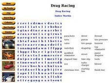 Drag Racing Worksheet
