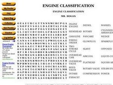 Engine Classification Worksheet