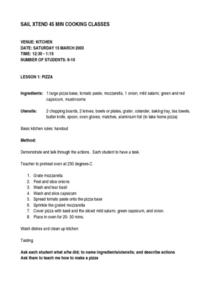 home economics lesson plans worksheets lesson planet