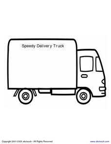 Speedy Trucks Poem Worksheet