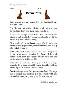 Bunny Ears Lesson Plan
