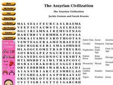 The Assyrian Civilization Worksheet