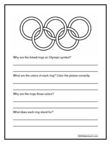 Olympic Rings Worksheet