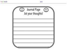 Journal Page Printables & Template