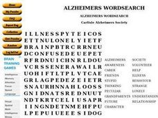 ALZHEIMERS WORDSEARCH Worksheet