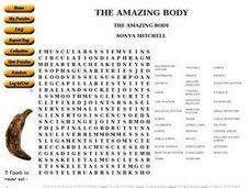 The Amazing Body Worksheet