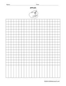 APPLES (GRID) Worksheet