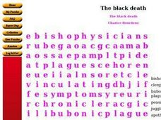 The Black Death Worksheet