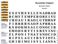 Byzantine Empire Worksheet