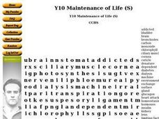 Maintenance of Life Worksheet