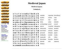 Medieval Japan Worksheet
