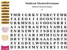 Medieval Theatre Worksheet