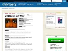 Children of War Lesson Plan