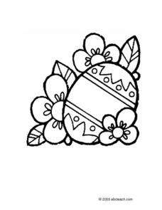 Easter Egg Coloring Sheet Lesson Plan
