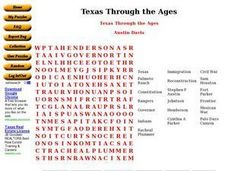 Texas Through the Ages Worksheet