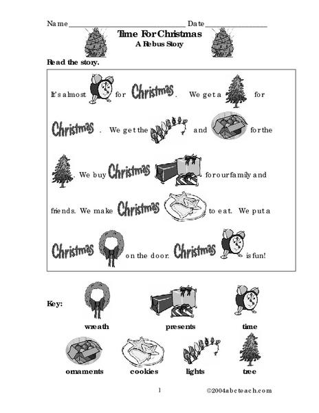 All Worksheets  Rebus Story Worksheets  Free Printable