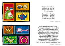 Children's Rhymes Worksheet