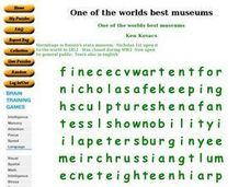 One of the worlds best museums Worksheet