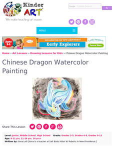 Chinese Dragons Lesson Plan