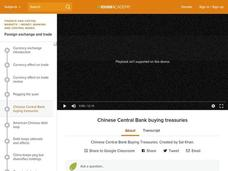 Chinese Central Bank Buying Treasuries Video