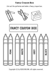 Fancy Crayon Box Lesson Plan