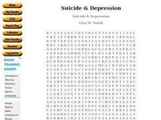 Suicide & Depression Worksheet