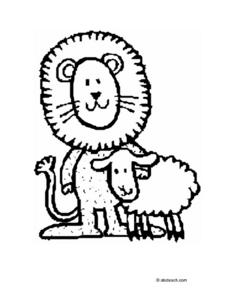 The Lion And the Lamb Lesson Plan