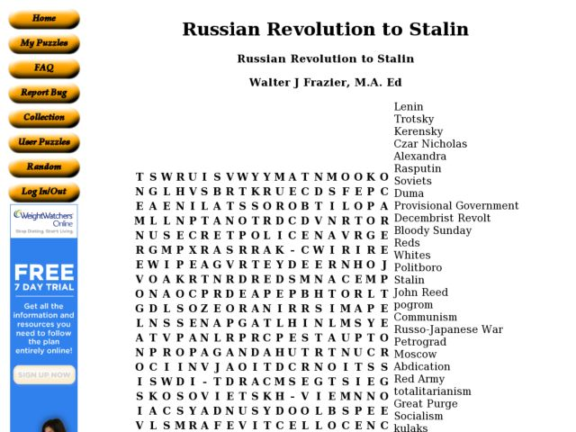 6th Grade Social Studies Worksheets Russia: Russian Revolution to Stalin 6th   8th Grade Worksheet   Lesson Planet,
