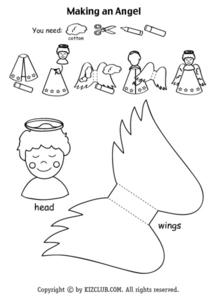 Making a Angel Lesson Plan