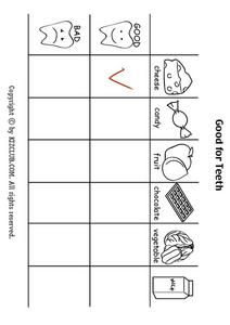 Good for Teeth Lesson Plan