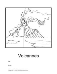 My Volcano Report Worksheet