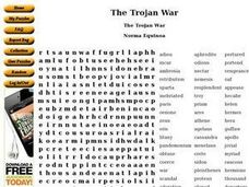 The Trojan War Worksheet