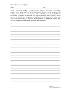 Breaking Rules Worksheet